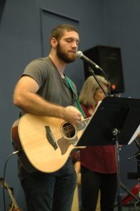 Colin Leading Worship At The Well